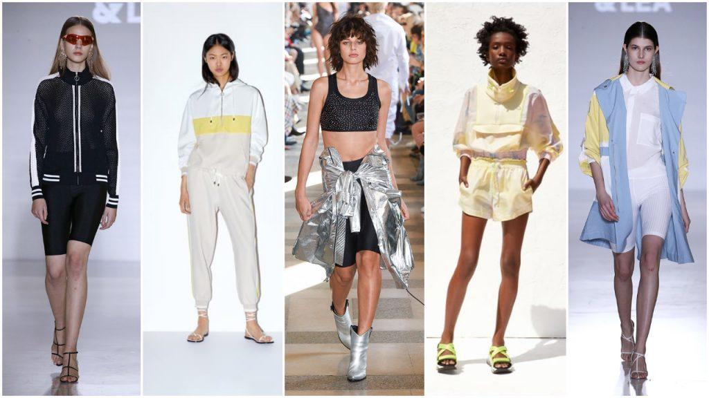 Estilo deportivo verano 2020 Tendencias de moda mujer