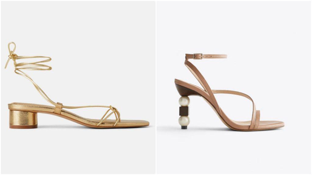Sandalias tiras finas verano 2020 Tendencia en calzados mujer