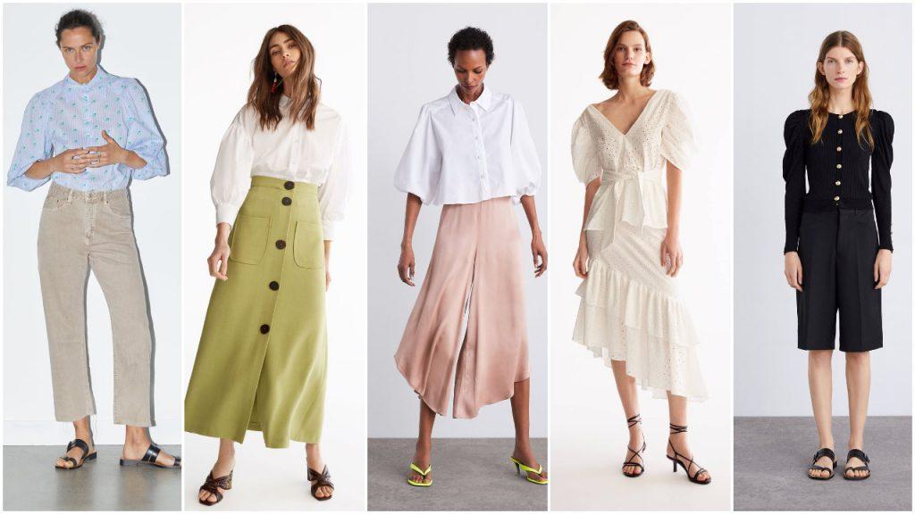 mangas xl look 80 verano 2020 Tendencias de moda mujer