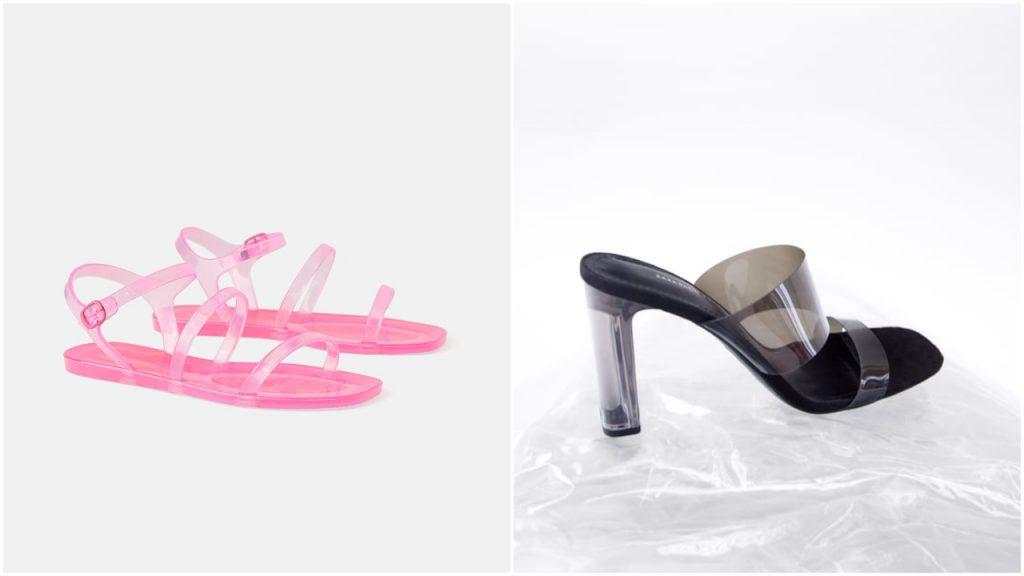 sandalias de pvc verano 2020 Tendencia en calzados mujer