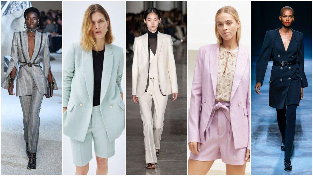 trajes para mujer working girls verano 2020 Tendencias de moda mujer