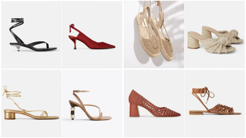 zapatos y sandalias verano 2020 Tendencia en calzados mujer