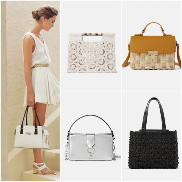 Carteras rectangulares elegantes tendencias primavera verano 2020