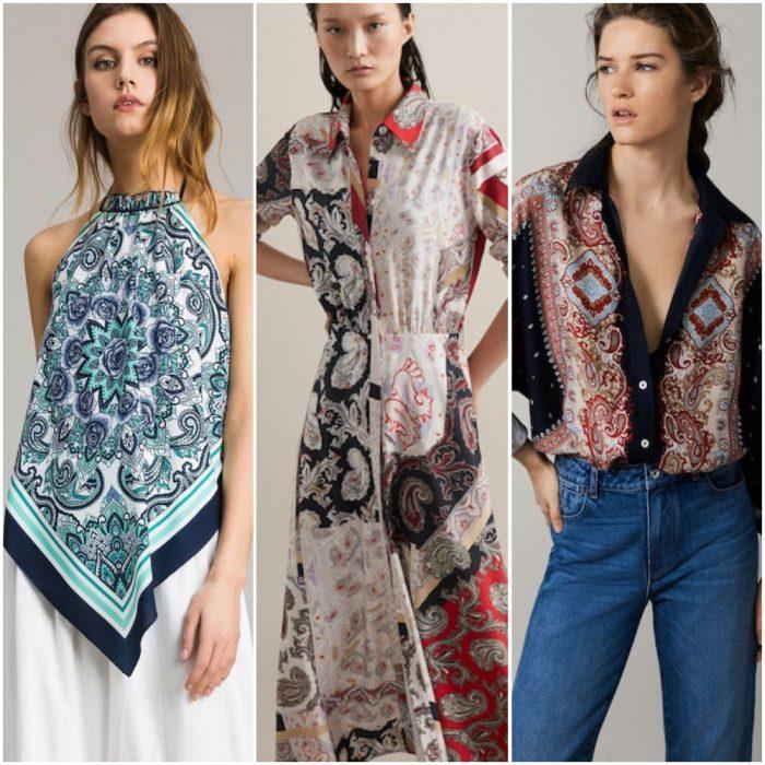 Estampa pañuelo verano 2020 Tendencia de moda