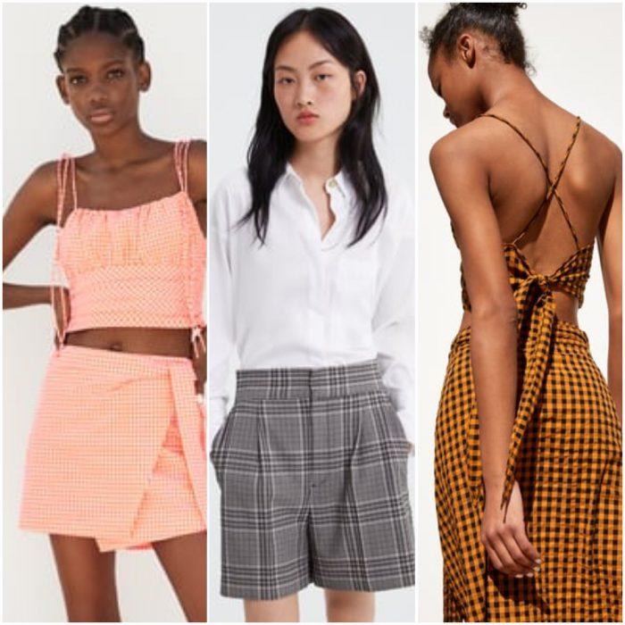 Estampas a cuadros verano 2020 Tendencia de moda