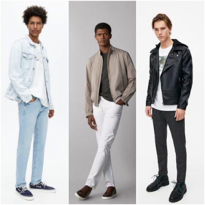 Look en jeans hombres verano 2020 Tendencias Argentina