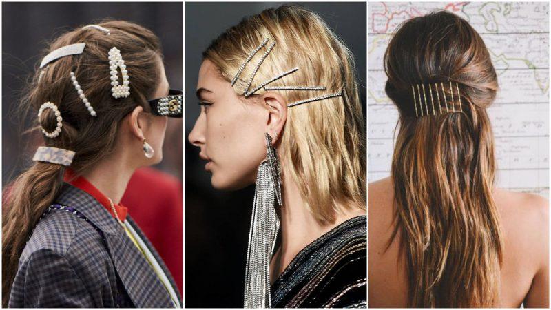 Peinados para mujer con hebillas verano 2020