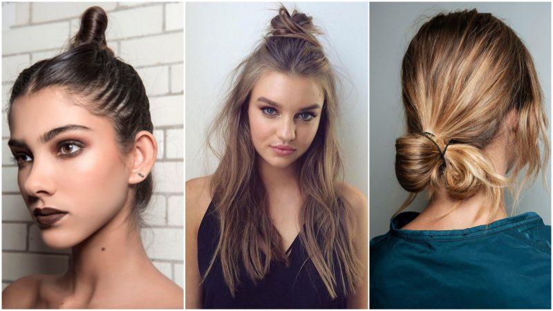 Peinados para mujer con rodetes verano 2020