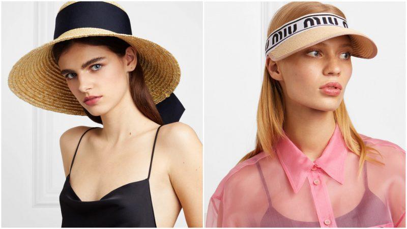 Sombreros de rafia Accesorios verano 2020 Tendencias