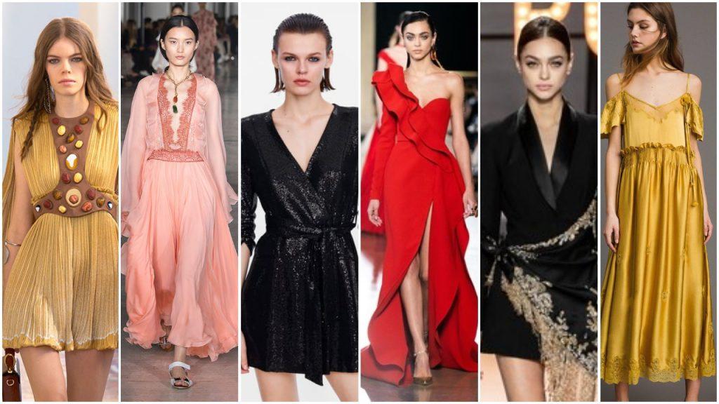 Vestidos tipos de estilos primavera verano 2020 tendencias