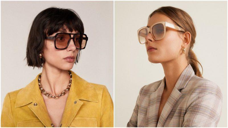 gafas de sol cuadras XL verano 2020 Tendencias