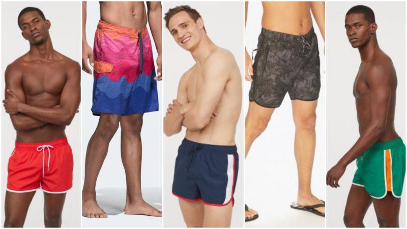 trajes de baño para hombres de moda 2020 Tendencias
