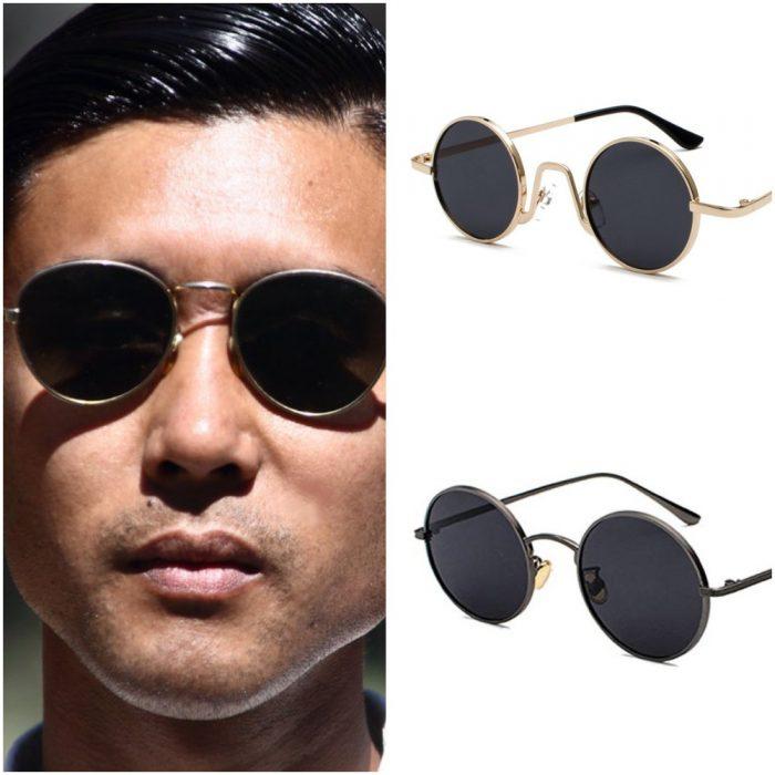 Gafas redondas para hombre Verano 2020 Tendencias