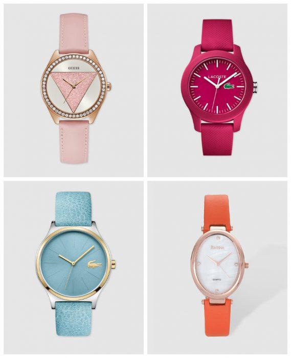 Relojes mujer correa de colores verano 2020 Tendencias