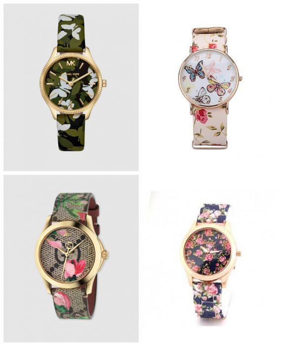 Relojes mujer estampados verano 2020 Tendencias