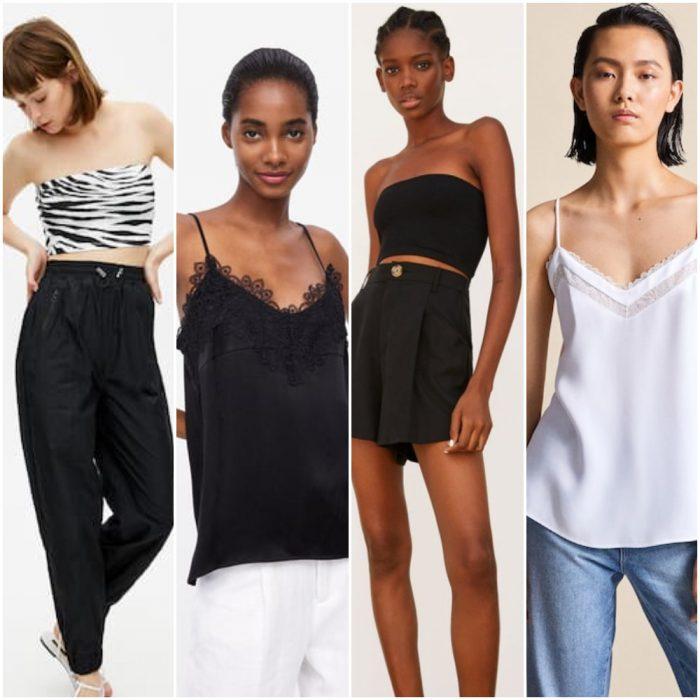 Top y blusas verano 2020 Tendencia ropa mujer