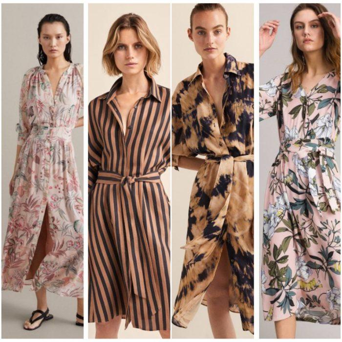 Vetidos camiseros verano 2020 Tendencia ropa mujer