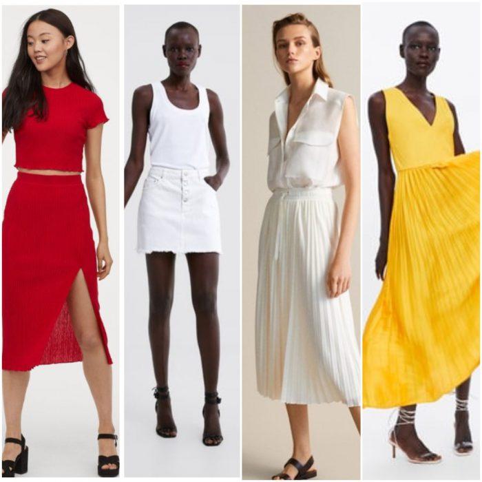 faldas verano 2020 Tendencia ropa mujer