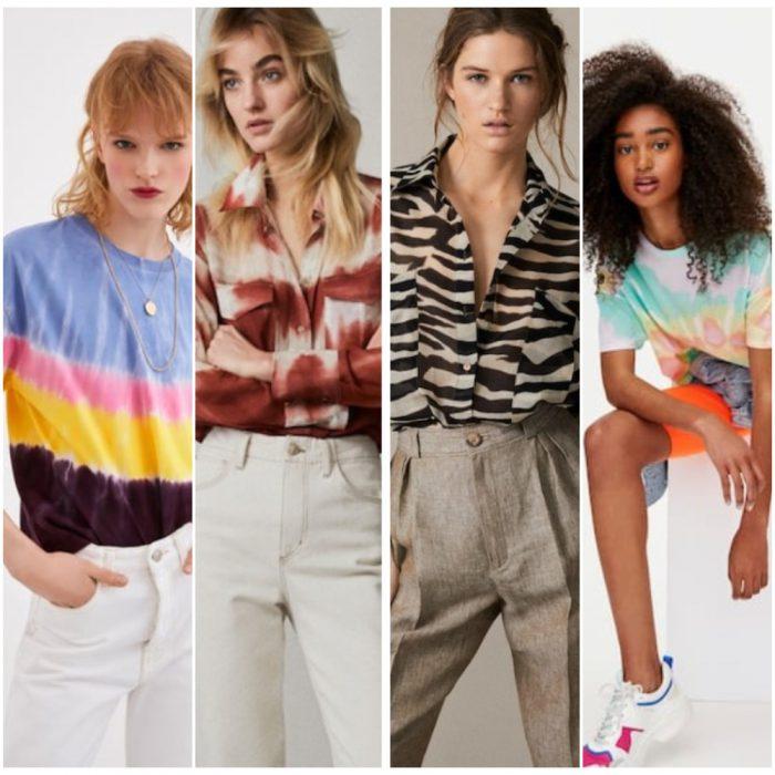 remeras y camisas estampadas verano 2020 Tendencia ropa mujer