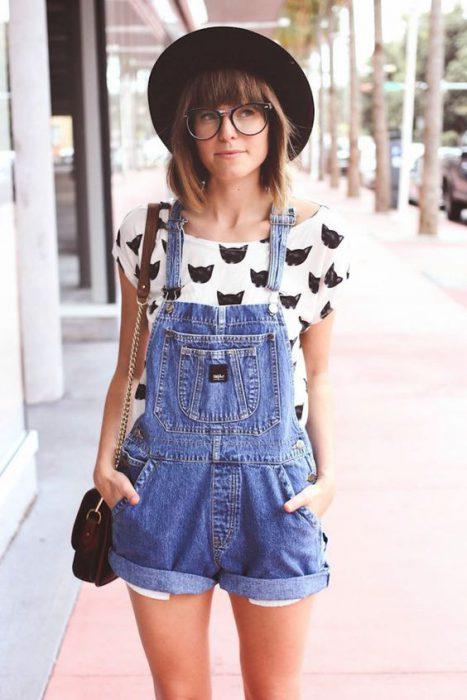 Look hipster mujer urbano