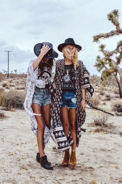 Outfits boho chic