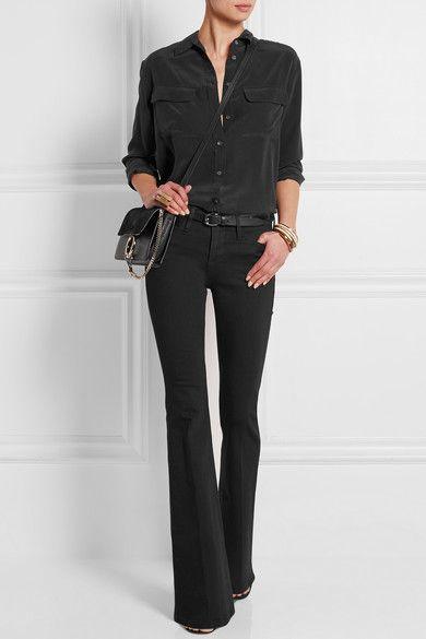 look en jeans elegante e informal