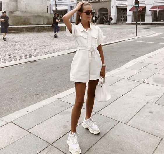 Outfits blanco mujer casual e informal