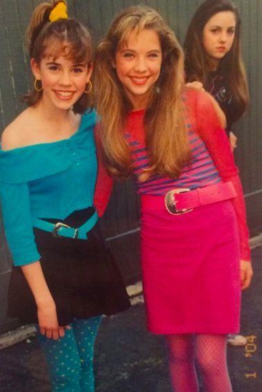 look juveniles de los años 80