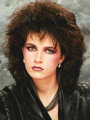 moda den peinados y maquillaje años 80