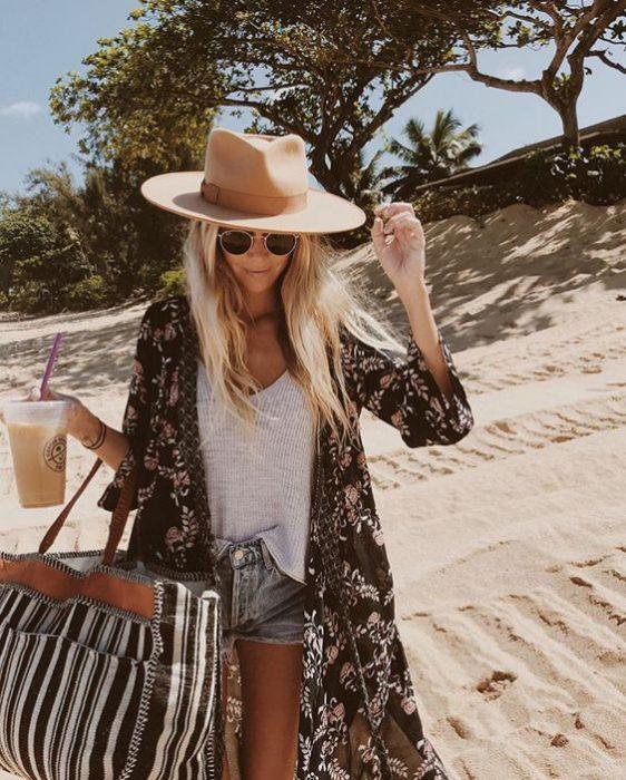 kimonos para ir a la playa