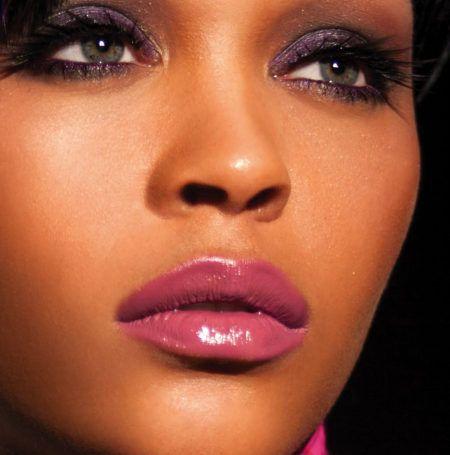 labios con brillo