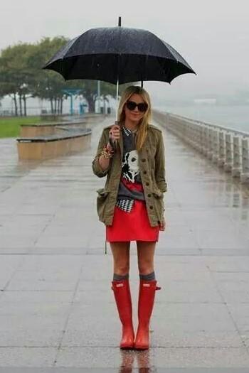 looks urbanos para dias lluviosos de verano