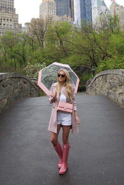 paraguas transparentes de moda 1