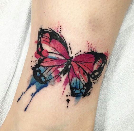 tatuaje mariposas lindos