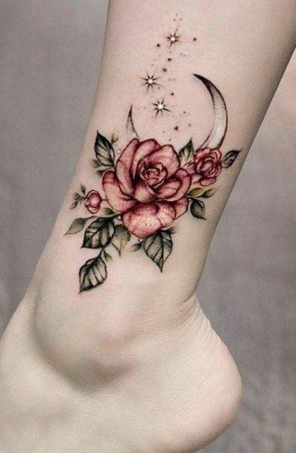 tatuajes de rosas lindos