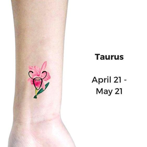tatuajes signos del zodiaco lindos tauro