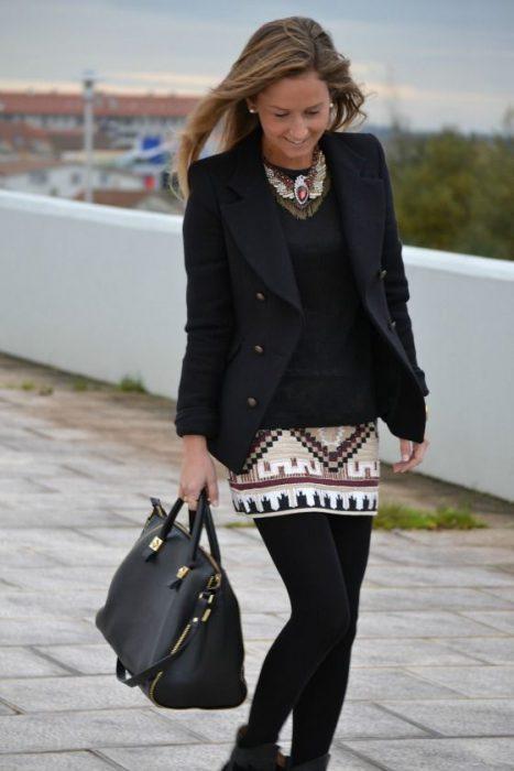 cancan abridadas con minifalda invierno