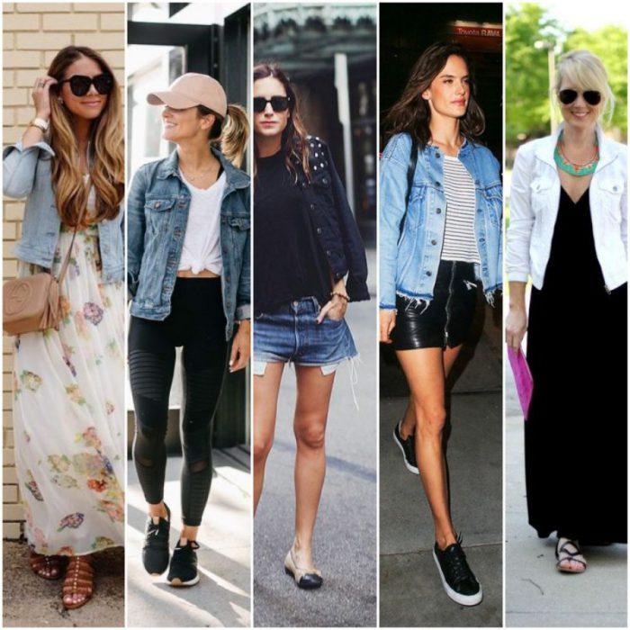 Looks Con Campera De Jeans Para Mujer 2021 Muy Trendy