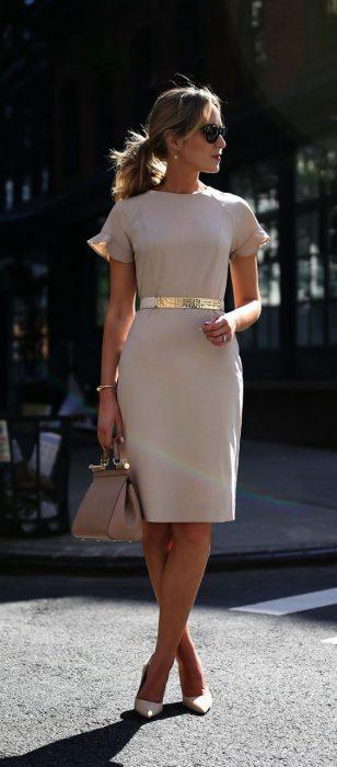 vestidos para ir a la oficina