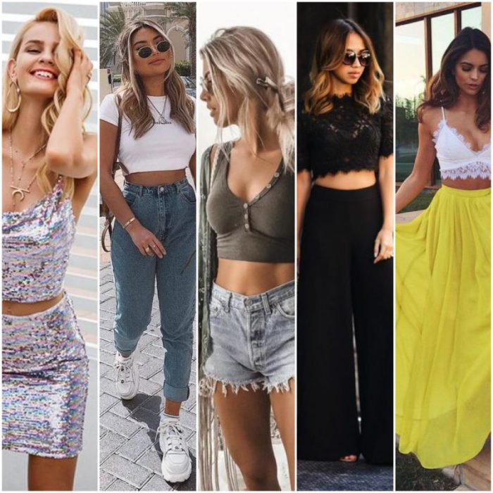 Como Usar Crop Tops Outfits Juveniles 2021 Muy Trendy