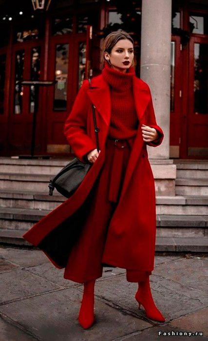 look mezclando rojos