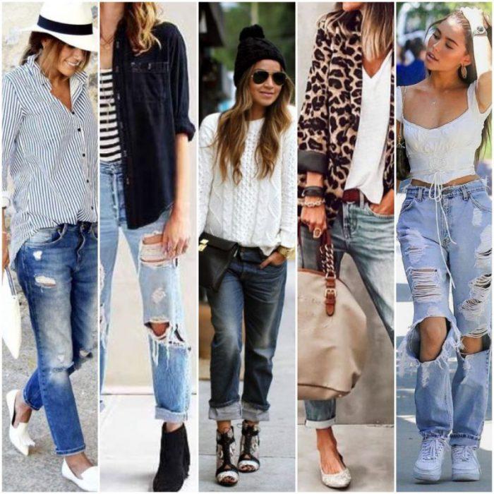Outfits Jeans Boyfriend Como Usarlos En El 2021 Muy Trendy