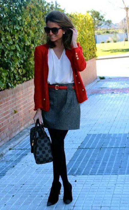 Como combinar el rojo - Looks para mujer 2021 - Muy Trendy