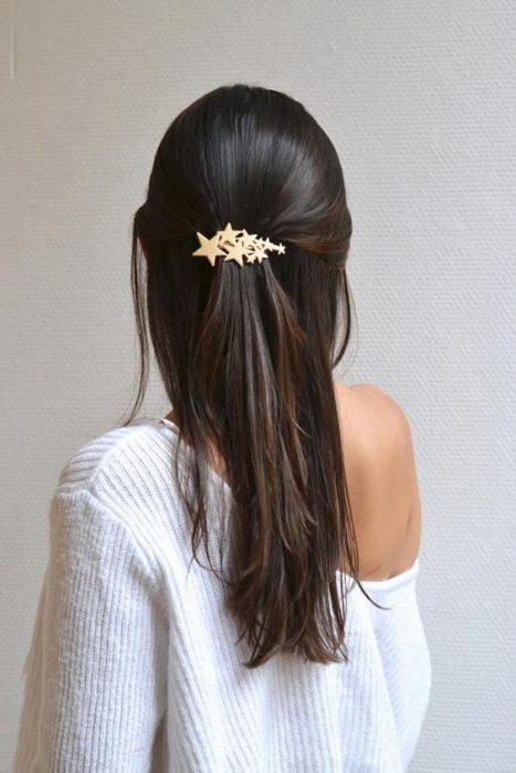 orquilla estrellas para el cabello