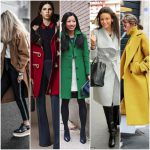outfit invierno con sacos de paño