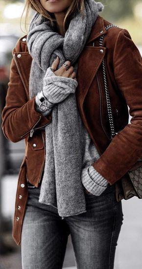 outfits basicos para invierno para mujer casual e informal