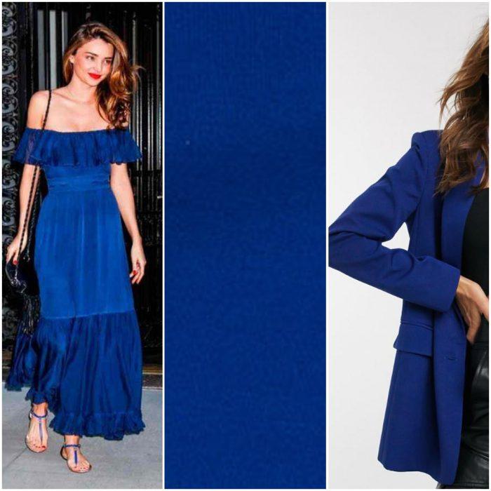 Azul clasico tendencias en colores verano 2021