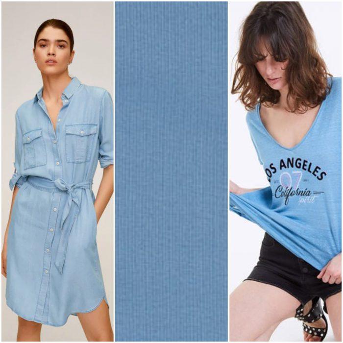 Denim blue tendencias en colores verano 2021