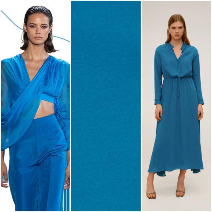 Mosaico Azul tendencias en colores verano 2021