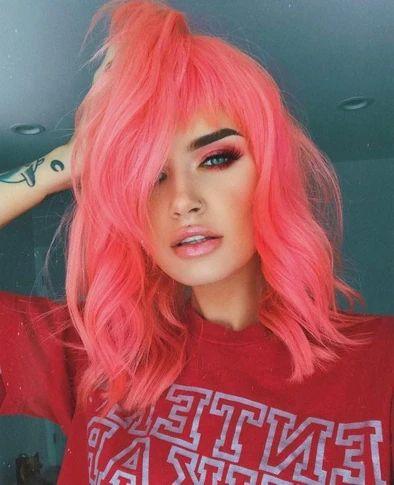 cabellos tonos neon